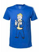 oblečení pro hráče Tričko Fallout 4: Vault Boy Shooting Fingers (vel. S)