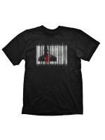 oblečení pro hráče Tričko Hitman: Barcode (vel. M)