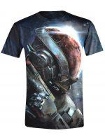 oblečení pro hráče Tričko Mass Effect: Andromeda Ryder N7 (vel. XXL)