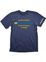 oblečení pro hráče Tričko PayDay 2: Drilling in Progress (vel. L)