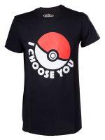oblečení pro hráče Tričko Pokémon: I Choose You (vel. L)
