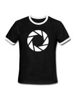 oblečení pro hráče Tričko Portal 2: Aperture Logo (vel. XL)