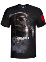 Herné tričko Tričko Star Wars: Death Trooper (čierne) (veľ. S)