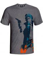 oblečení pro hráče Tričko Star Wars: Han Solo (vel. S)