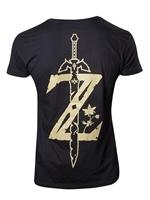 oblečení pro hráče Tričko The Legend of Zelda: Breath of the Wild (vel. XXL)