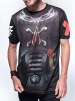 oblečení pro hráče Tričko Warhammer 40.000: Blood Angels Armour (vel. L)