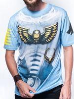 oblečení pro hráče Tričko Warhammer 40.000: Space Wolves Armour (vel. XL)