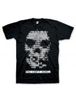 Herné tričko Tričko Watch Dogs Skull (veľkosť M)