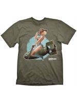 oblečení pro hráče Tričko Wolfenstein: Pin-Up Girl (vel. L)