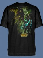 Herné tričko Tričko World of Warcraft Illidan Black Temple (americká veľ. L / európska XL)