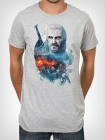 Hern� tri�ko Tri�ko Witcher 3: Into the Fire (americk� ve�. M / eur�pska L)