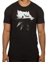 oblečení pro hráče Tričko Zaklínač: Silhouette (americká vel. M / evropská L)