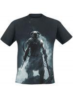 Herné tričko Tričko The Elder Scrolls V : Skyrim - Dragonborn (veľ. L)