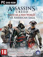 Hra pre PC Assassins Creed: The American Saga CZ (3 +4 + Liberation)