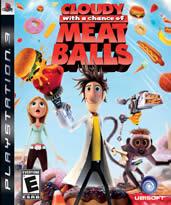 Hra pre Playstation 3 Cloudy with a Chance of Meatballs (Oblačno miestami fašírky)