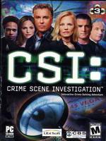 Hra pre PC CSI: Crime Scene Investigation CZ