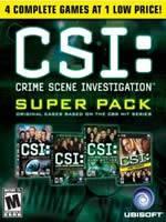Hra pre PC CSI SuperPack 1-4