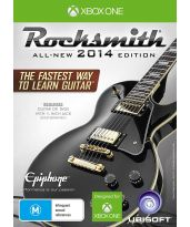 hra pre Xbox One Rocksmith 2014 + prep�jac� k�bel