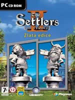 Hra pre PC The Settlers II: 10. výročí (Zlatá edice)