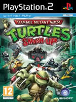 Hra pre Playstation 2 Teenage Mutant Ninja Turtles: Smash Up