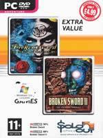 Hra pre PC Broken Sword 1 + 2