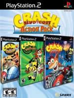 Hra pre Playstation 2 Crash Action Pack