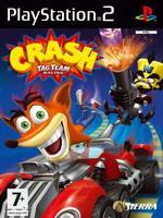 Hra pre Playstation 2 Crash Tag Team Racing