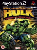 Hra pre Playstation 2 The Incredible Hulk: Ultimate Destruction