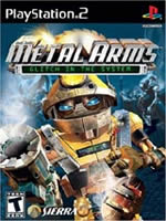 Hra pre Playstation 2 Metal Arms: Glitch in the System