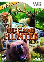 Hra pre Nintendo Wii Cabelas Big Game Hunter 2012