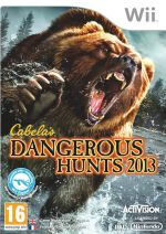 Hra pre Nintendo Wii Cabelas Dangerous Hunts 2013 + puška
