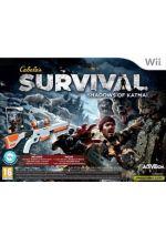 Hra pre Nintendo Wii Cabelas Survival: Shadows of Katmai + puška