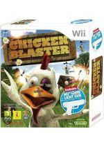 Hra pre Nintendo Wii Chicken Blaster + pištoľ Lightgun