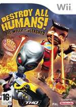 Hra pro Nintendo Wii Destroy All Humans!: Big Willy Unleased