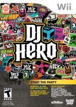 Hra pre Nintendo Wii DJ Hero + gramofón