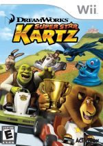 hra pre Nintendo 3DS DreamWorks Super Star Kartz dupl