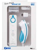 Príslušenstvo pre Nintendo Wii Wii diaľkový ovládač + nunchuk (bielo-modré)