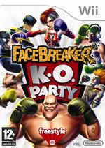 Hra pre Nintendo Wii FaceBreaker K.O. Party