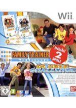 Hra pre Nintendo Wii Family trainer: Double Challenge + podložka