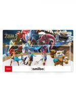 Příslušenství ke konzoli Nintendo WiiU Figurka Amiibo Zelda - Champions Collection (4 figurky)