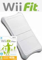 Hra pre Nintendo Wii Wii Fit + Wii Fit Plus + ballance board (čierna)