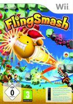 konzole nebo příslušenství pro Nintendo Wii Wii dálkový ovladač se zabudovaným Motion Plus (černý) + hra FlingSmash