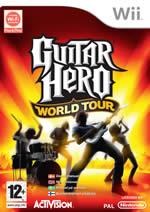 Hra pre Nintendo Wii Guitar Hero 4: World Tour + gitara