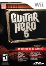 Hra pre Nintendo Wii Guitar Hero 5 + nástroje