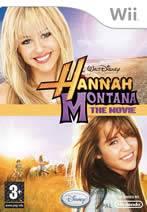 Hra pre Nintendo Wii Hannah Montana Movie