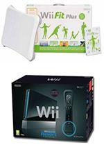 Príslušenstvo pre Nintendo Wii Konzola Nintendo Wii (čierna) + Sports Resort + Motion Plus + Wii Fit Plus