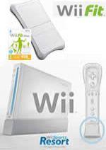 Príslušenstvo pre Nintendo Wii Konzola Nintendo Wii (biela) + Sports Resort + Motion Plus + Wii Fit Plus