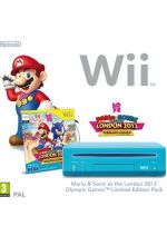Príslušenstvo pre Nintendo Wii Konzola Nintendo Wii (modrá) + Mario & Sonic at the London 2012 Olympic Games