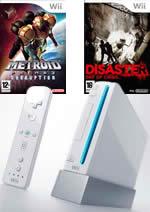 Príslušenstvo pre Nintendo Wii Konzola Nintendo Wii (biela) + 3 hry