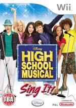 Hra pre Nintendo Wii High School Musical: Sing It! + mikrofón